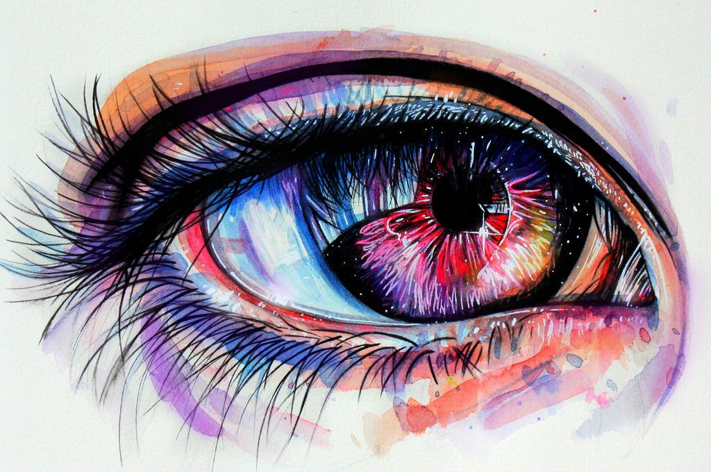 Eye of Galaxy by KlarEm
