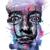 Salvador Dali by KlarEm