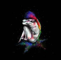 Alone in the dark by KlarEm