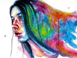 All the colors inside me by KlarEm