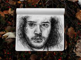 Jon Snow by KlarEm
