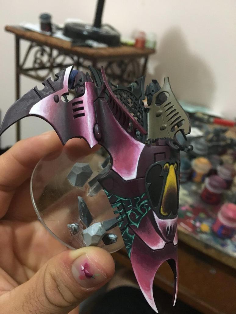 WIP Dark Eldar Venom by Sou1xHunt3r