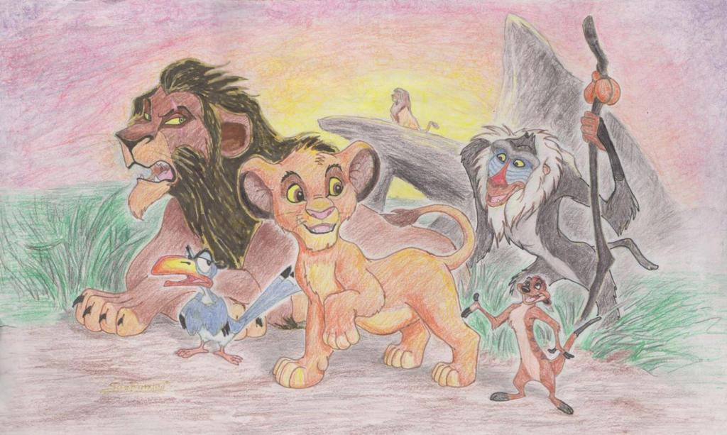 Lion King by ScottRobertson