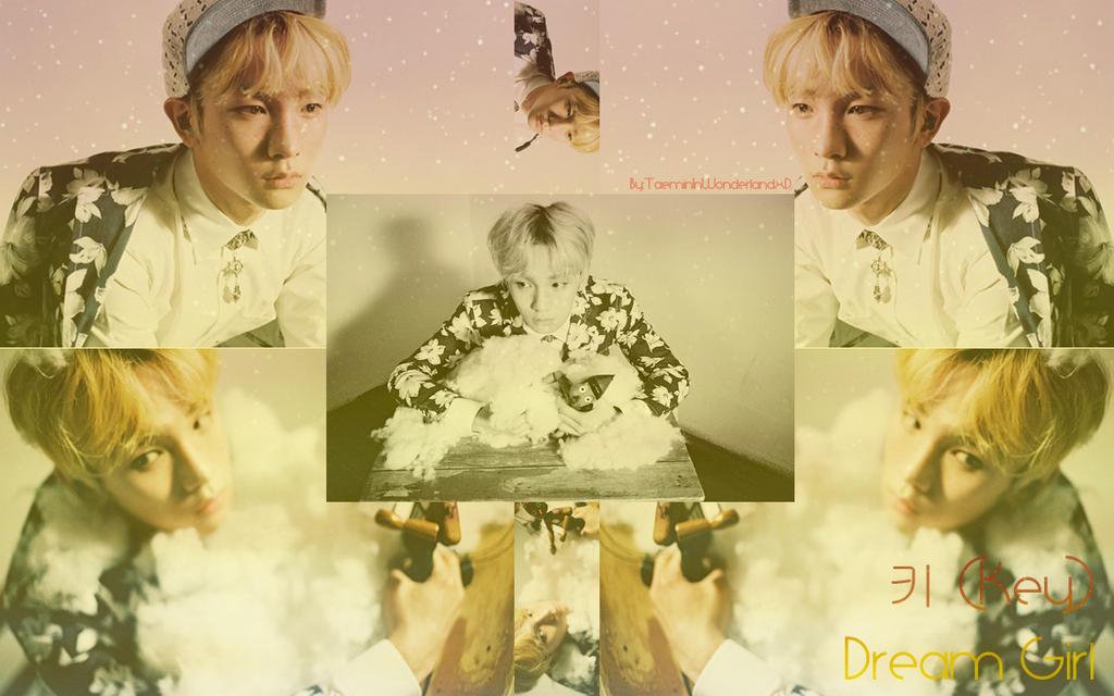 Key Dream Girl Wallpaper by TaeminInWonderlandxD