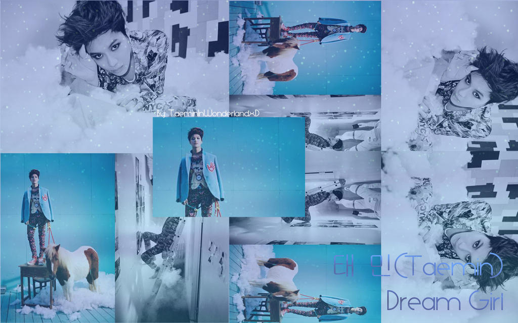 Taemin Dream Girl Wallpaper by TaeminInWonderlandxD