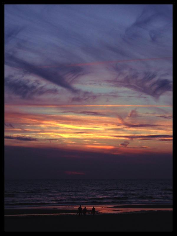 Noordwijck Sunset by MrMD