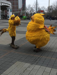Fat Chocobo Cosplay