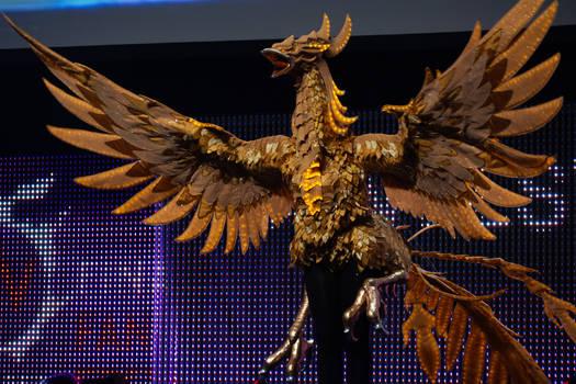 Final Fantasy XIV Firebird Mount Cosplay