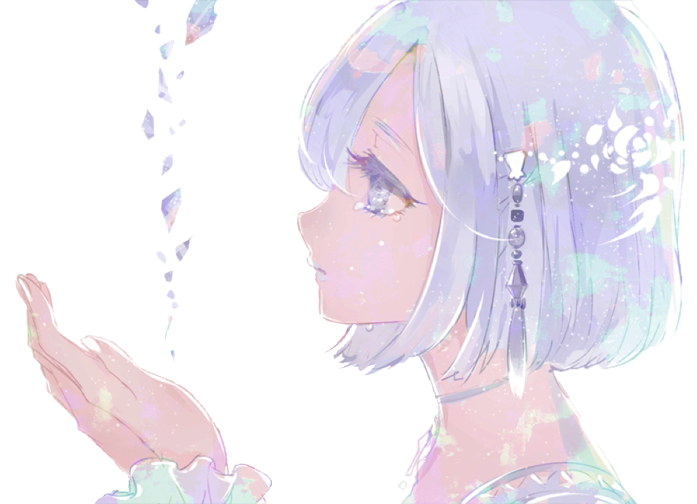 Crystal Girl by ChelaAzambuja