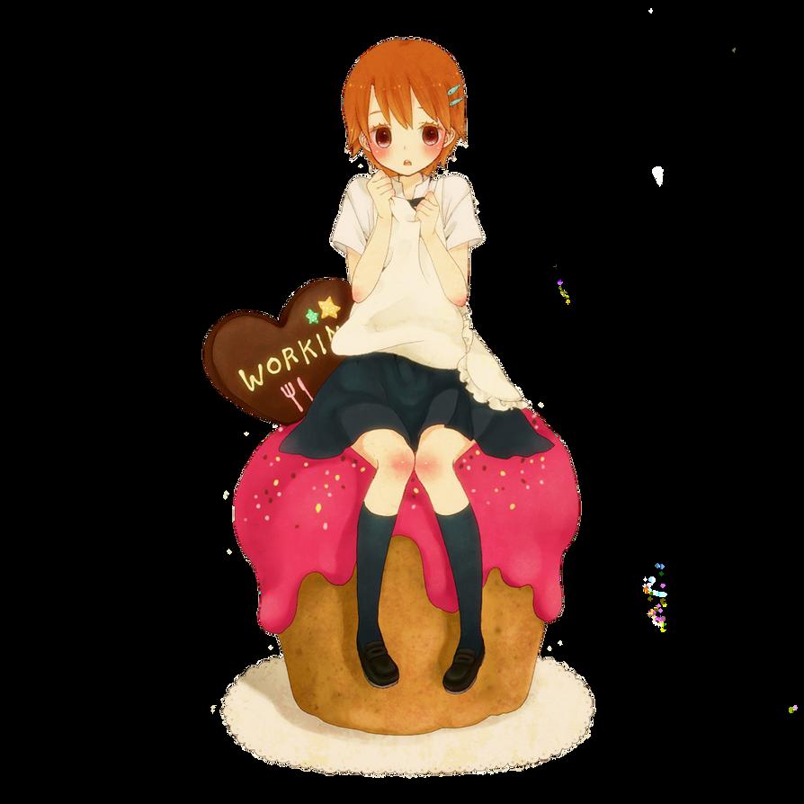 ●● طلبات صور الأنمي | الصور المتحركة | الرندرز .. ! - صفحة 6 Girl_in_cupcake_by_chelaazambuja-d7adp68