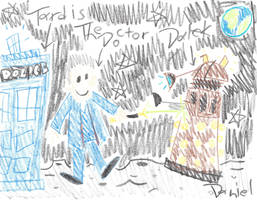 Pop Culture Characters If Drawn By Toddlers #2