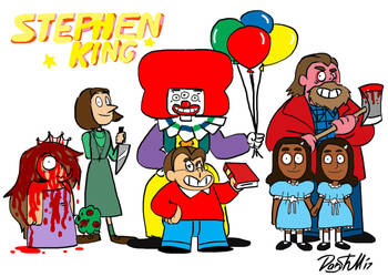 Stephen King Universe by cowheaddanny