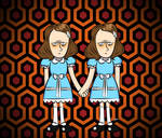 Doodles of the Damned Day 4: The Grady Twins