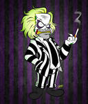 Doodles of the Damned Day 5: Beetlejuice