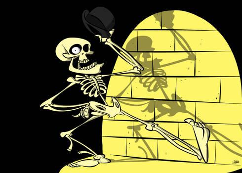 Doodles of the Damned Day 12: Bonejangles