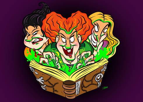 DOTD Day 18: The Sanderson Sisters