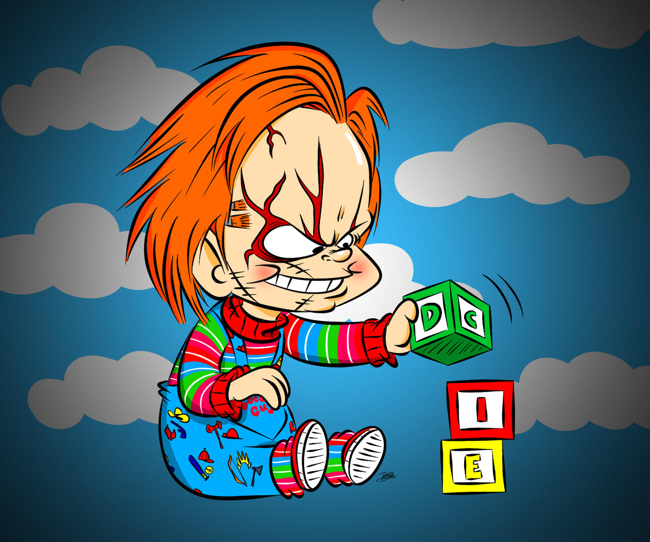 Doodles of the Damned Day 27: Chucky