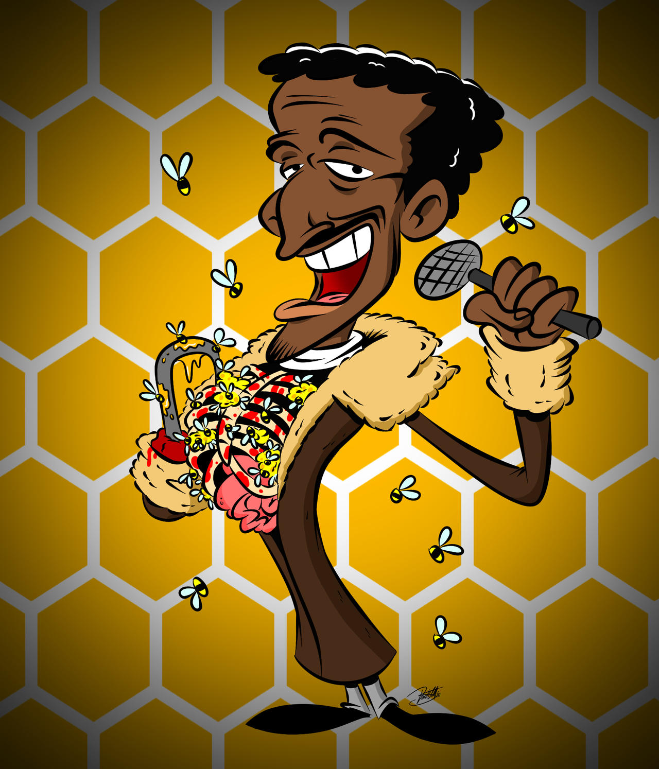Doodles of the Damned Day 40: The REAL Candyman