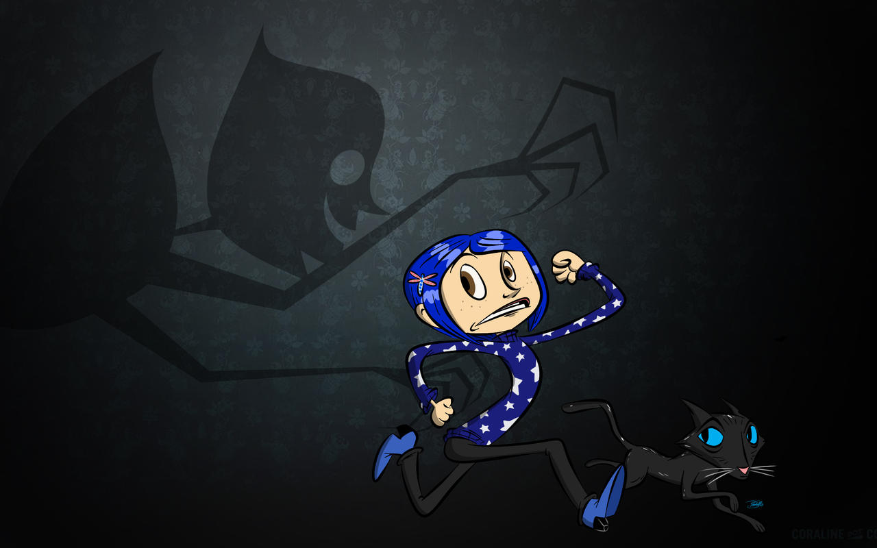 Doodles of the Damned Day 41: Coraline