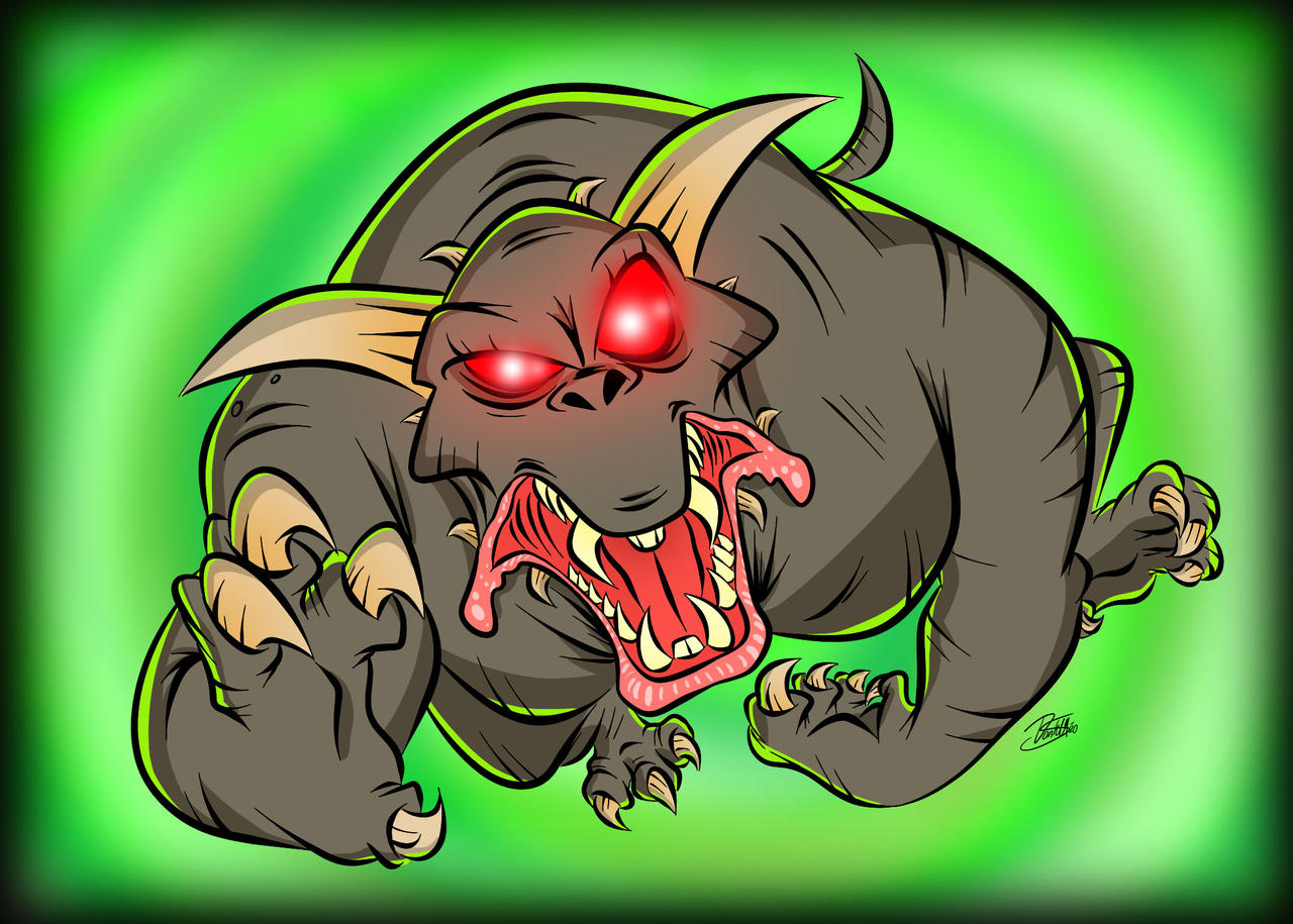 Doodles of the Damned Day 46: Zuul