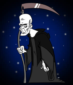 Doodles of the Damned Day 48: Death