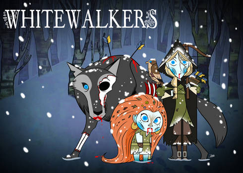 Doodles of the Damned Day 54: Whitewalkers
