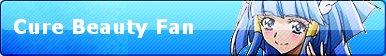 Cure Beauty Fan Button by PierceTheWolfox