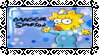 TS.:Maggie Simpson Stamp:. by tuwachiturraforever