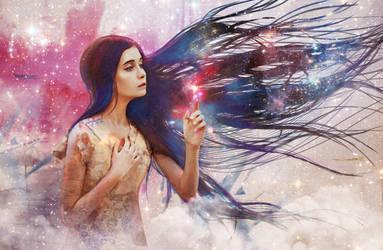 the Universe by nikafargos2iris