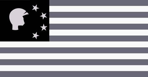 Flag of Zebrica by Steampunk-Brony