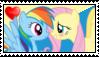Flutterdash Stamp by Steampunk-Brony