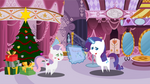 Pointy Christmas 2 : Rarity and Sweetie Belle by Steampunk-Brony