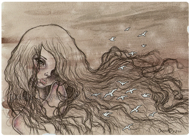 Aderyn ghost by pearleyed