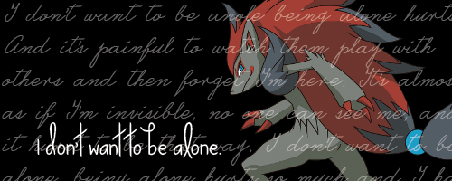 Alone... by TheSketchQueen