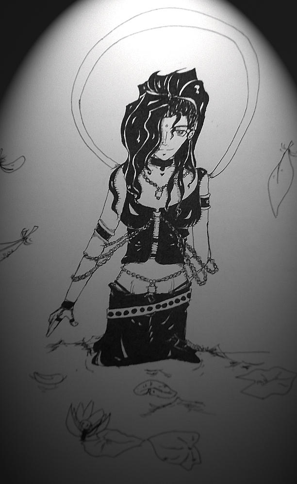 Bondage Bodhisattva by ChibiMethos