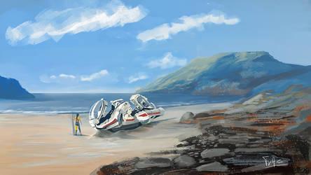 Scifi Surf Spot