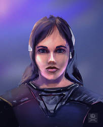 Girl Portait fun by tr4ze