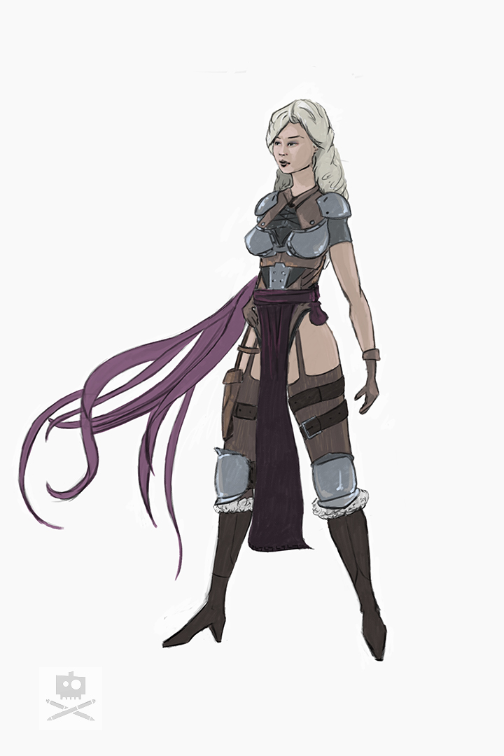 Mage Marie Sketch Colerscheme by tr4ze