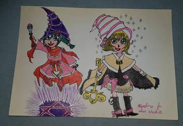 Yu-Gi-Oh! - Card Ejector and Gagaga Sister