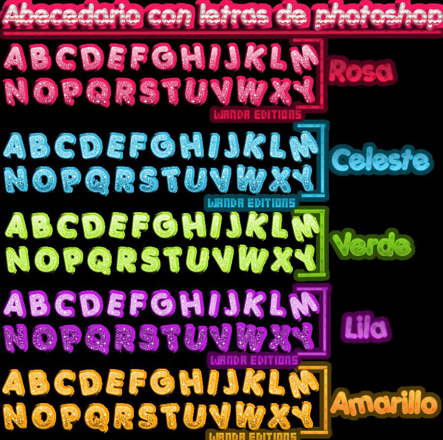 abecedario png by wan278