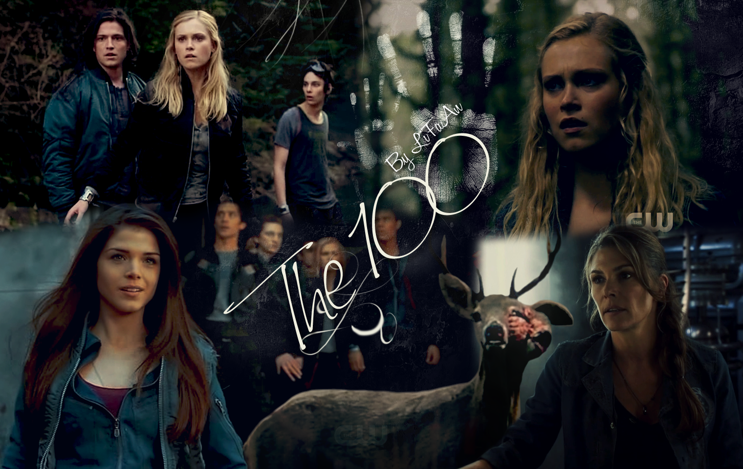 the 100 wallpaper by lifaan on deviantart