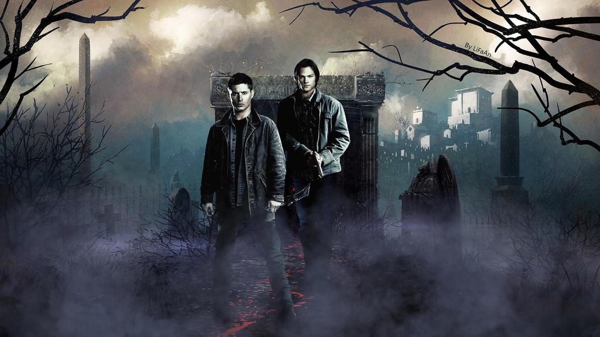 Good Wallpaper Halloween Supernatural - supernatural___happy_halloween_2015__by_lifaan-d9ewme0  Photograph_299981.jpg