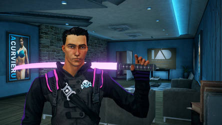 My Saints Row IV character by RikuSoma