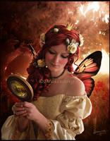Serene Autumn Queen by Drakenborg