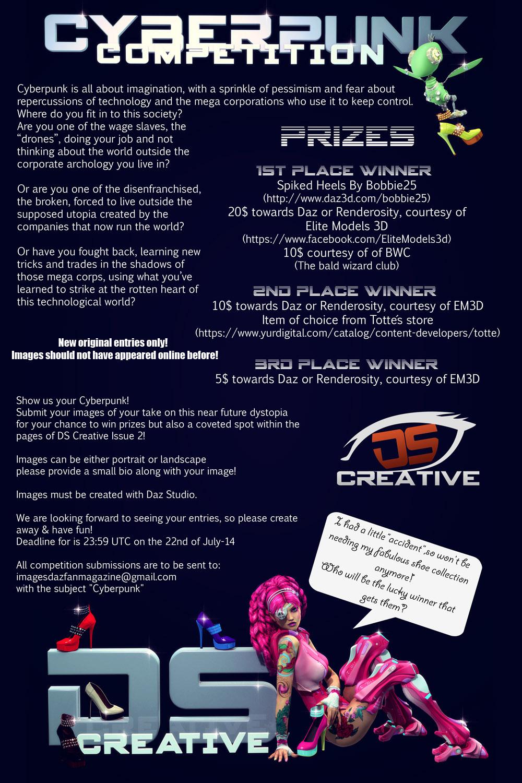 Cyberpunk Contest (promo) by Drakenborg