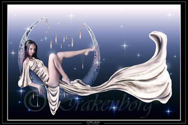 Commission- Celtic moon by Drakenborg