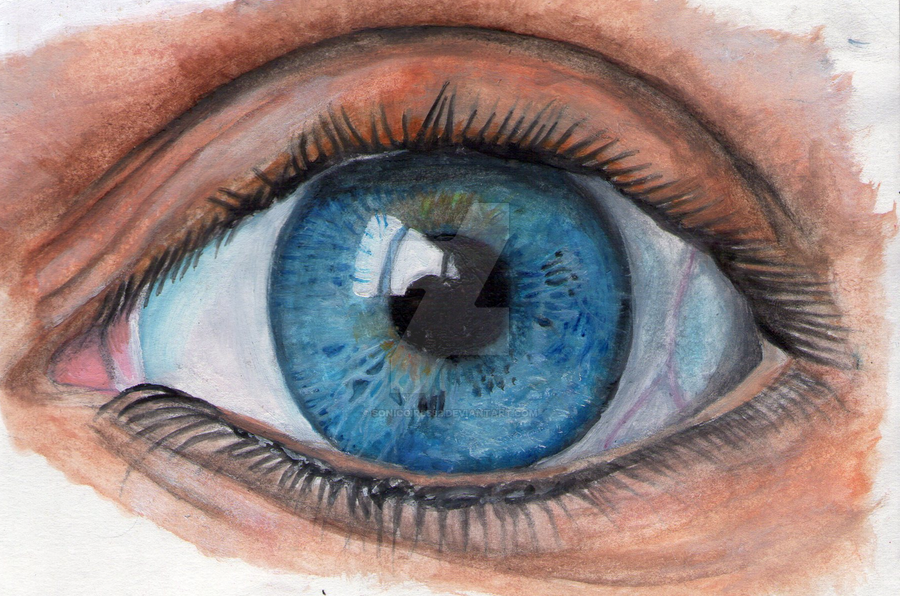 How To Paint Realistic Eyes With Acrylic