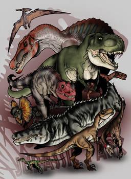 Jurassic Park Bestiary - The Predators