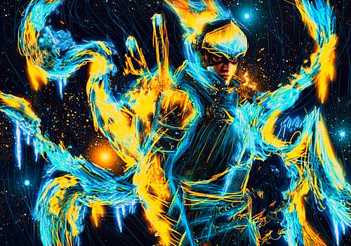 Ninja Glow by TonyApex