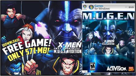 X-MEN: NEXT DIMENSION (MUGEN EDITION) Promo Image